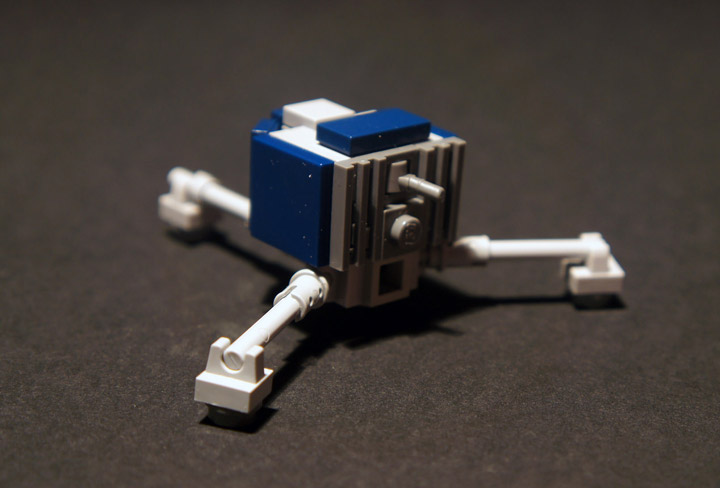 MolochBaal's Lego Philae Module Detail
