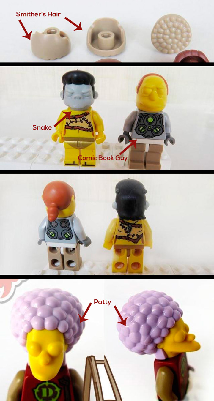 More Lego Simpsons Minifigures Leaked
