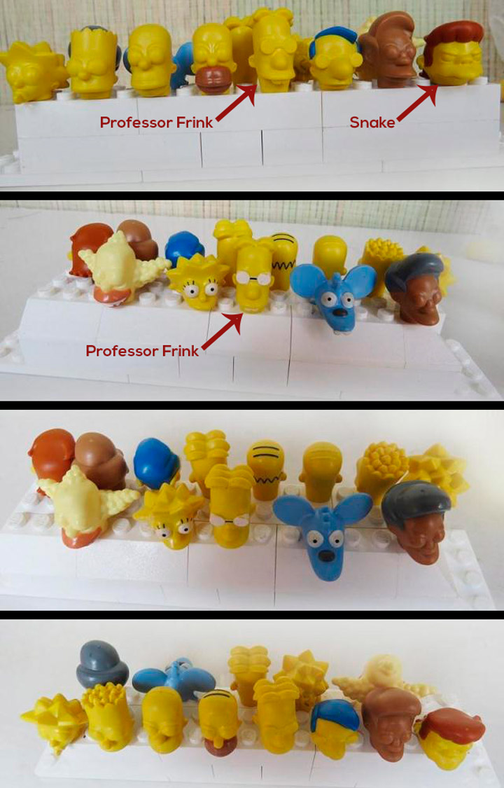 More Lego Simpsons Minifigures Leaked 2
