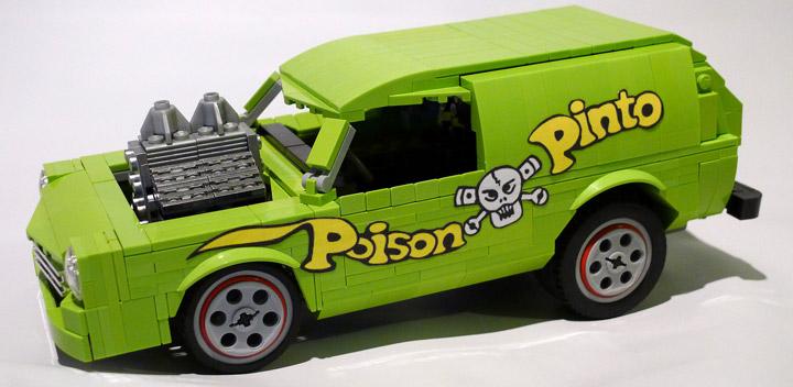 Nathan Proudlove's Lego Poison Pinto