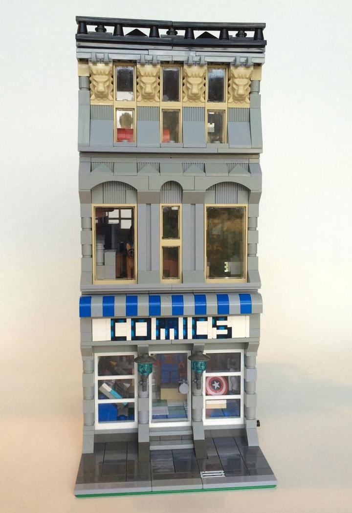SargeantSasquatch's Lego Modular Comic Book Store