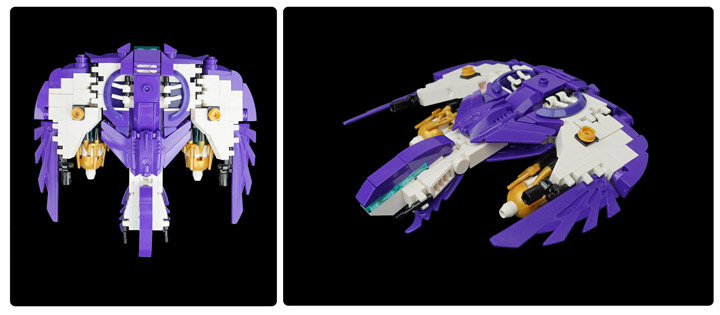 Tim Goddard's Lego Space Aquilax Destroyer