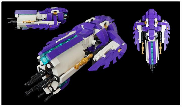 Tim Goddard's Lego Space Aquilax Flagship