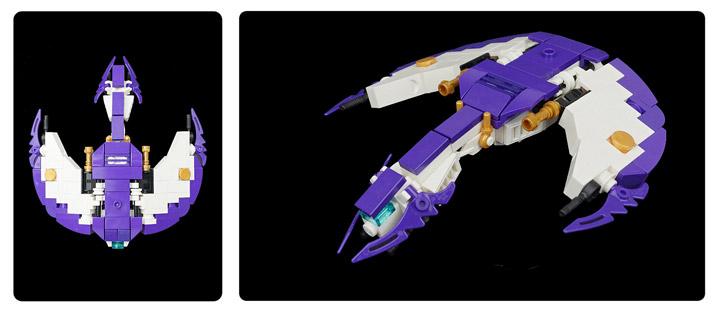 Tim Goddard's Lego Space Aquilax Frigate