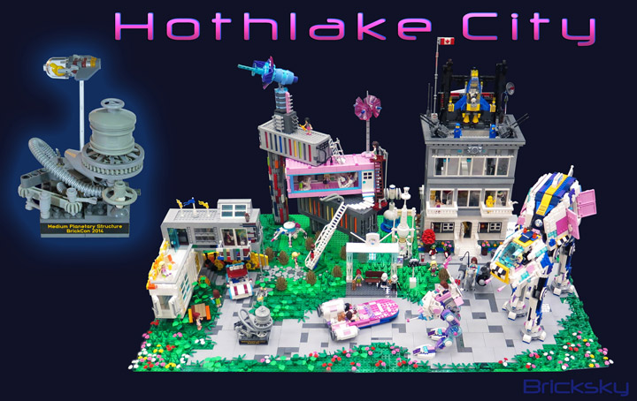 TylerSky and FrancesSky's Lego Friends Crossover, Star Wars Hothlake City