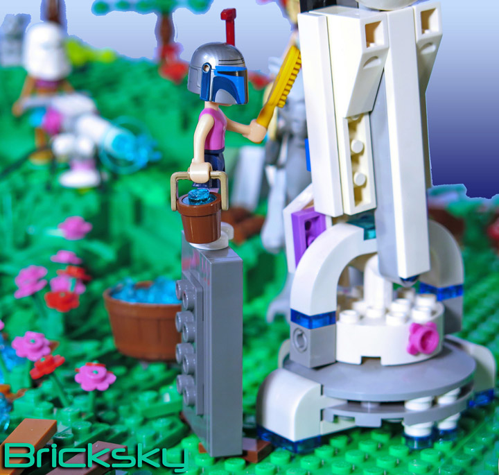 Tyler Sky's Lego Friends, Star Wars, AT-AT Cleaning Wash