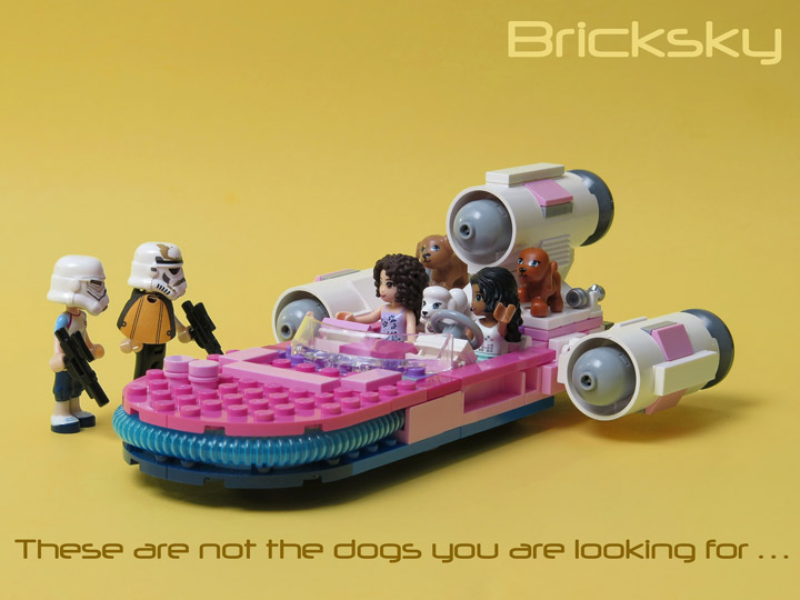 TylerSky's Lego Friends, Star Wars Speeder