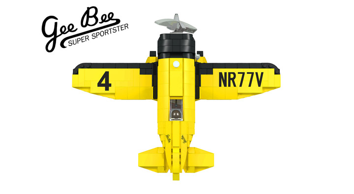 buggyirk's Lego Gee Bee Airplane Wingspan