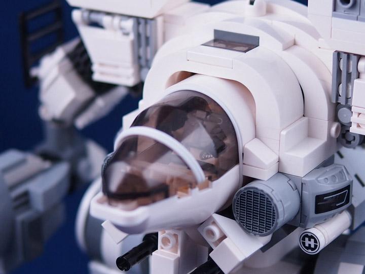 ccy's Lego BattleTech Mad Cat Cockpit
