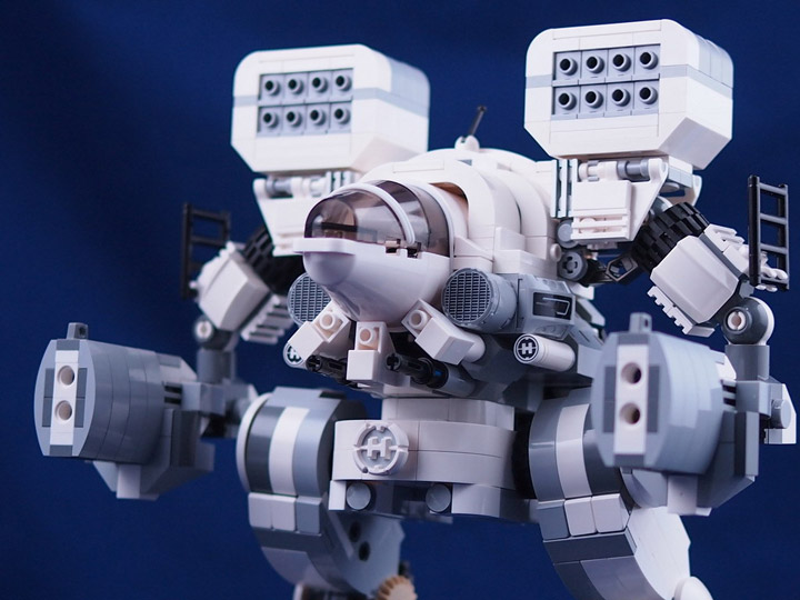 ccy's Lego BattleTech Mad Cat Detail