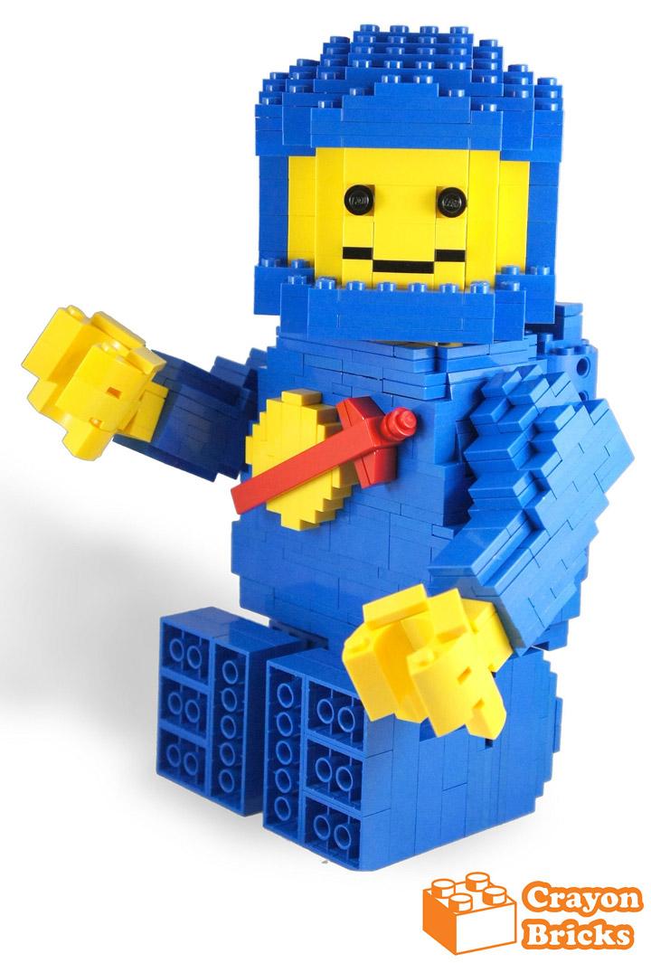 crayonbricks's Lego Classic Spaceman Blue 6x