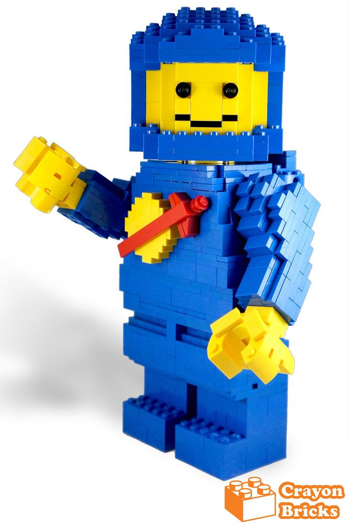 crayonbricks's Lego Classic Spaceman Blue 6x Big