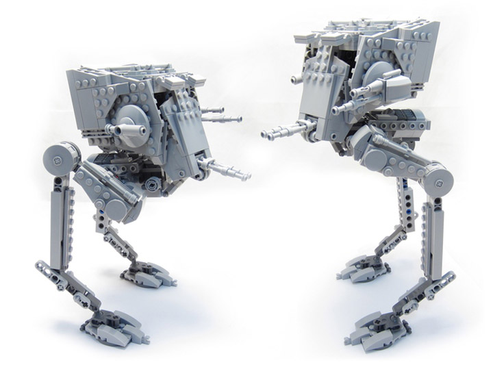 hobocamp's Lego Star Wars Posable AT-ST