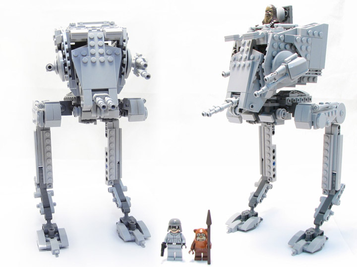 hobocamp's Lego Star Wars AT-ST Minifigures