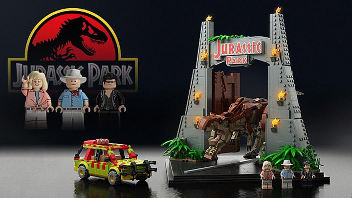 senteosan's Lego Jurassic Park