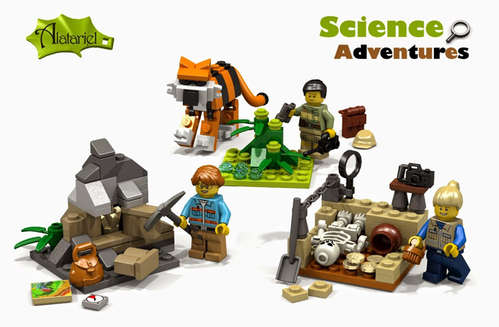 Alatariel's Lego Science Adventures