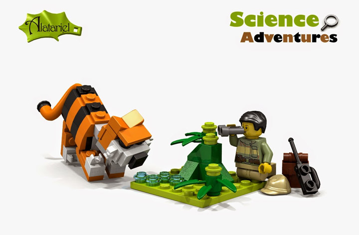 Alatariel's Lego Science Adventures Tiger