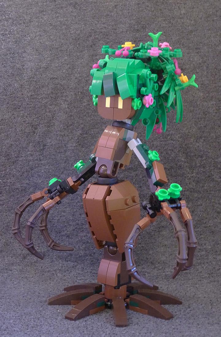Anton Sundstrom's Lego Dryad