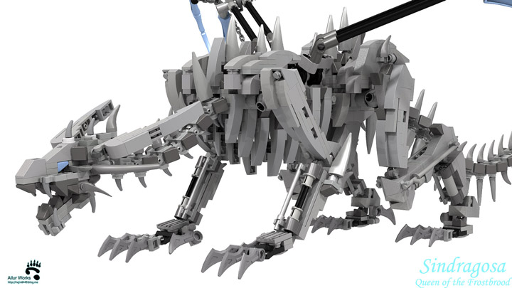 BangooH's Lego World Of Warcraft Sindragosa Detail