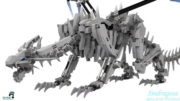 BangooH's Lego World Of Warcraft Sindragosa Detail