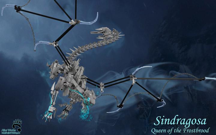 BangooH's Lego World Of Warcraft Sindragosa Dragon