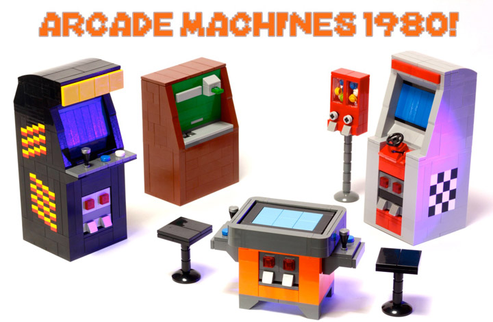 BreaksBricks's Lego Arcade Machines 1980