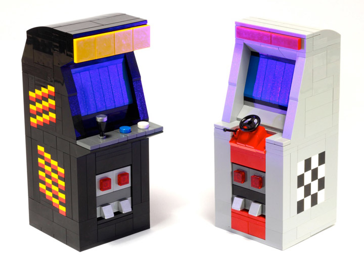 BreaksBricks's Lego Arcade Machines 1980 Detail