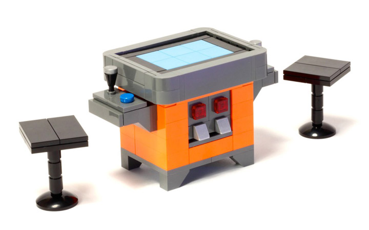 BreaksBricks's Lego Arcade Machines 1980 Pac-Man