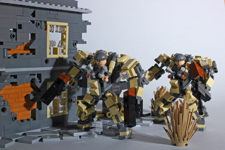 Devid VII's Lego The Last Chance Suits