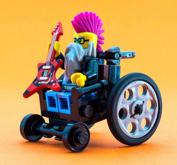 JuliusVonBrunk Lego Punk's Not Dead