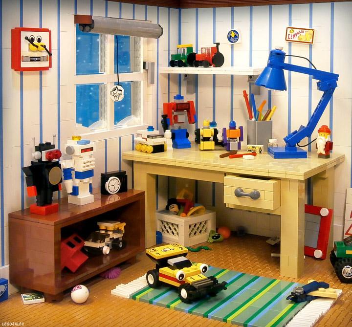 LegoJalex's Lego Kids Room, 1980s