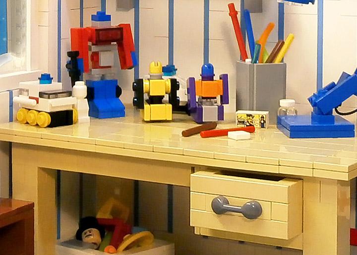 LegoJalex's Lego Kids Room, 1980s Desk
