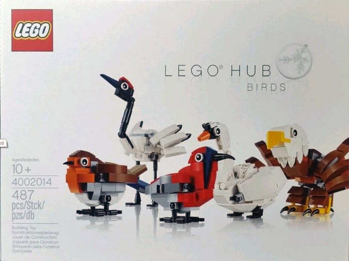 Brickset Lego Hub Birds 4002014 Employee Set