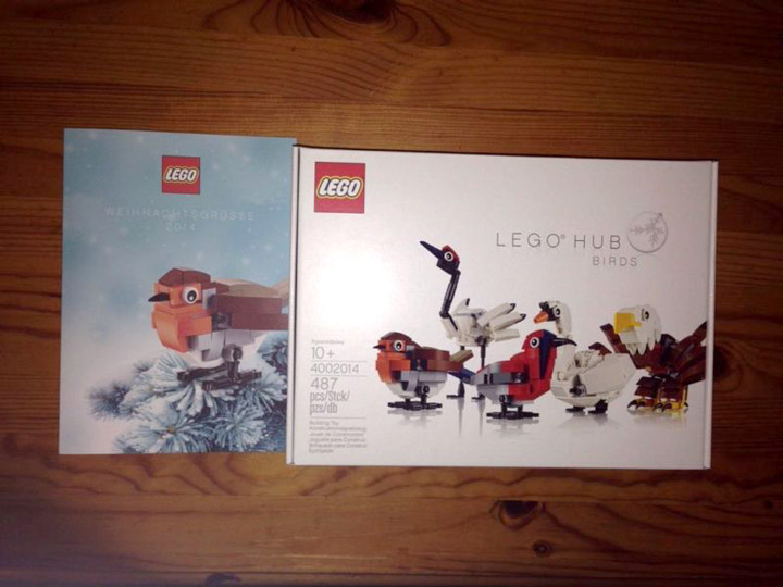 EBay Lego Hub Birds 4002014 Employee Set