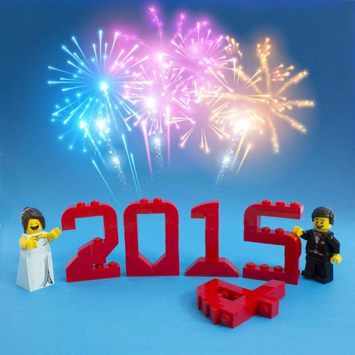 Lego New Years 2015