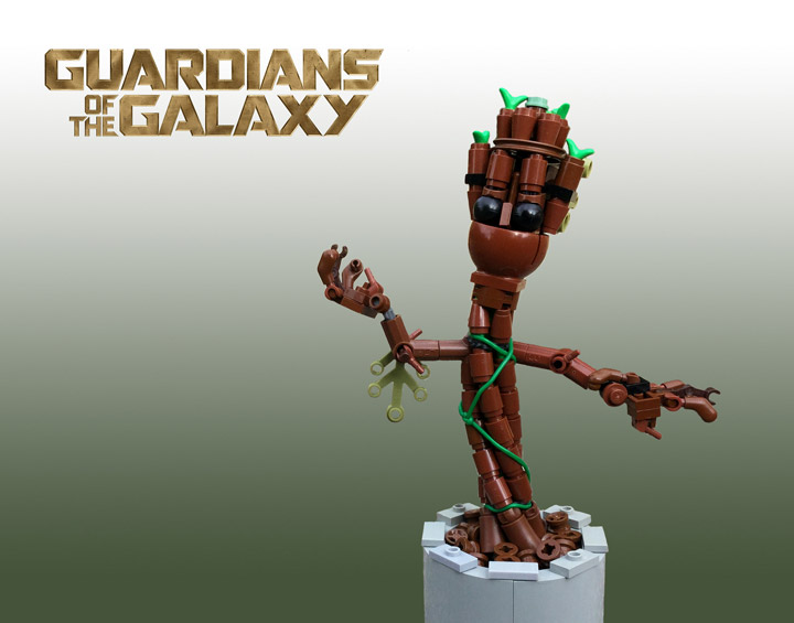 Sean and Steph Mayo's Lego Baby Groot