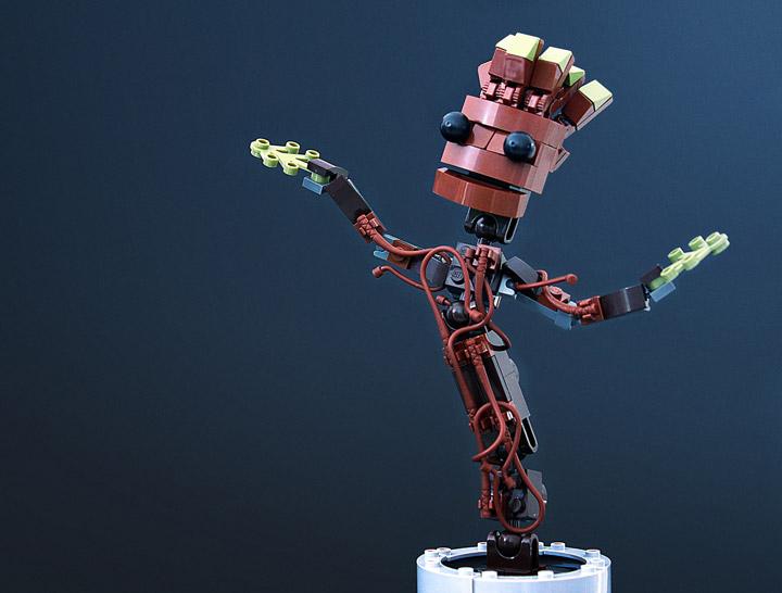 Tyler's Lego Groot, I am Groot