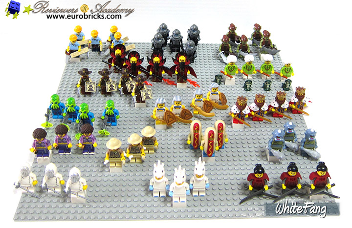 WhiteFang Lego Collectable Minifigures Series 13 Lineup