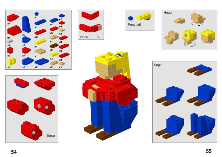 Hispabrick 021, Lego Magazine Details