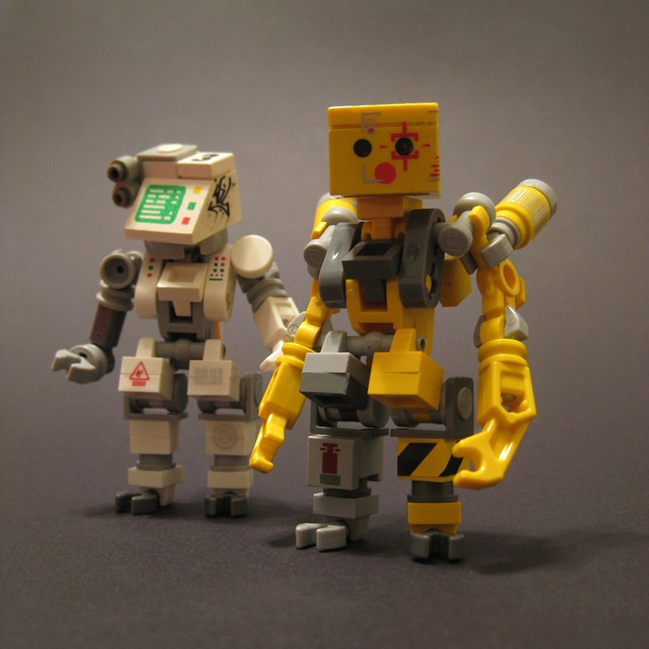 Andrew Lee's Lego Bad Binary Bitches
