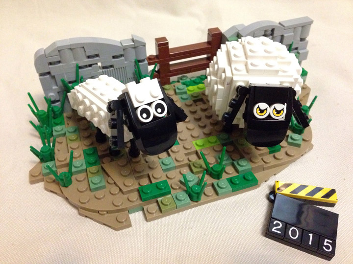 ArzLan's Lego Shaun The Sheep