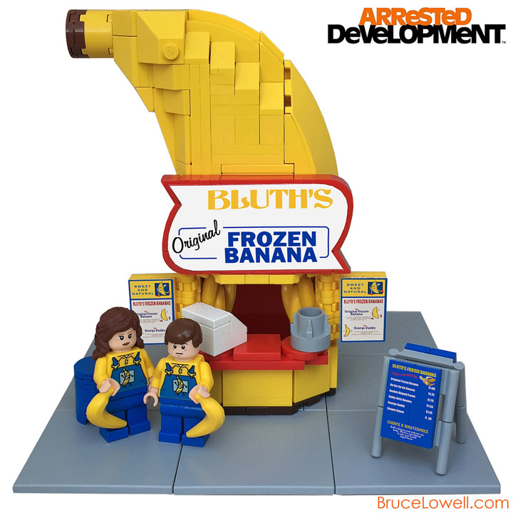 Bruce Lowell's Arrested Development, Lego Banana Stand