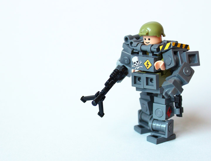 Devid VII's Lego Military Troopers X78