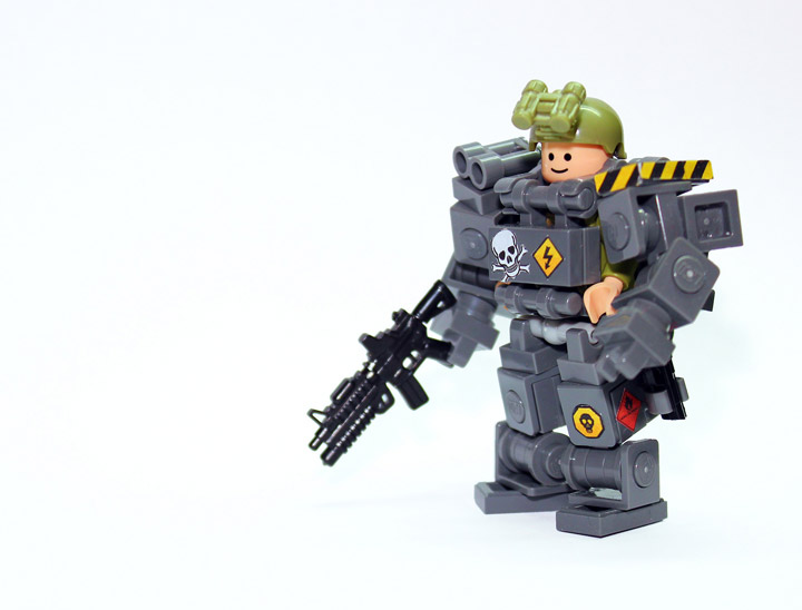Devid VII's Lego Military Troopers X78B