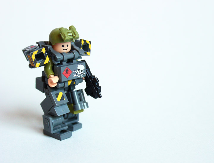 Devid VII's Lego Military Trooper X79