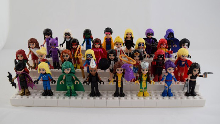 JustJon's Custom Lego Super Friends, Superheroes