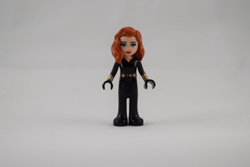 JustJon's Custom Lego Friends Superheroes, Black Widow
