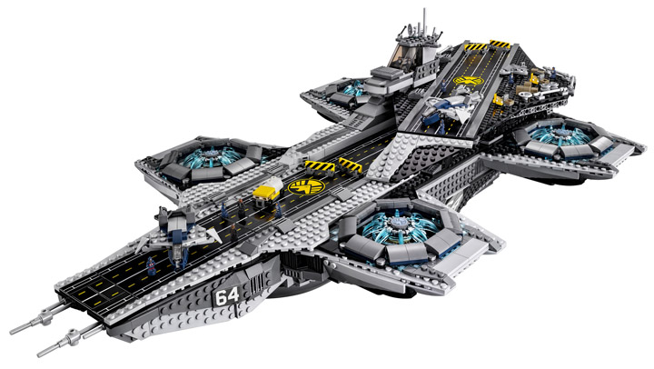 Lego Super Heroes, The SHIELD Helicarrier 76042