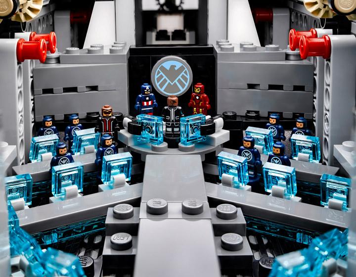 Lego Super Heroes, The SHIELD Helicarrier 76042 Bridge