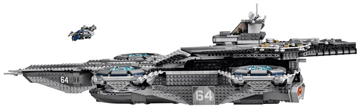 Lego Super Heroes, The SHIELD Helicarrier 76042 Profile